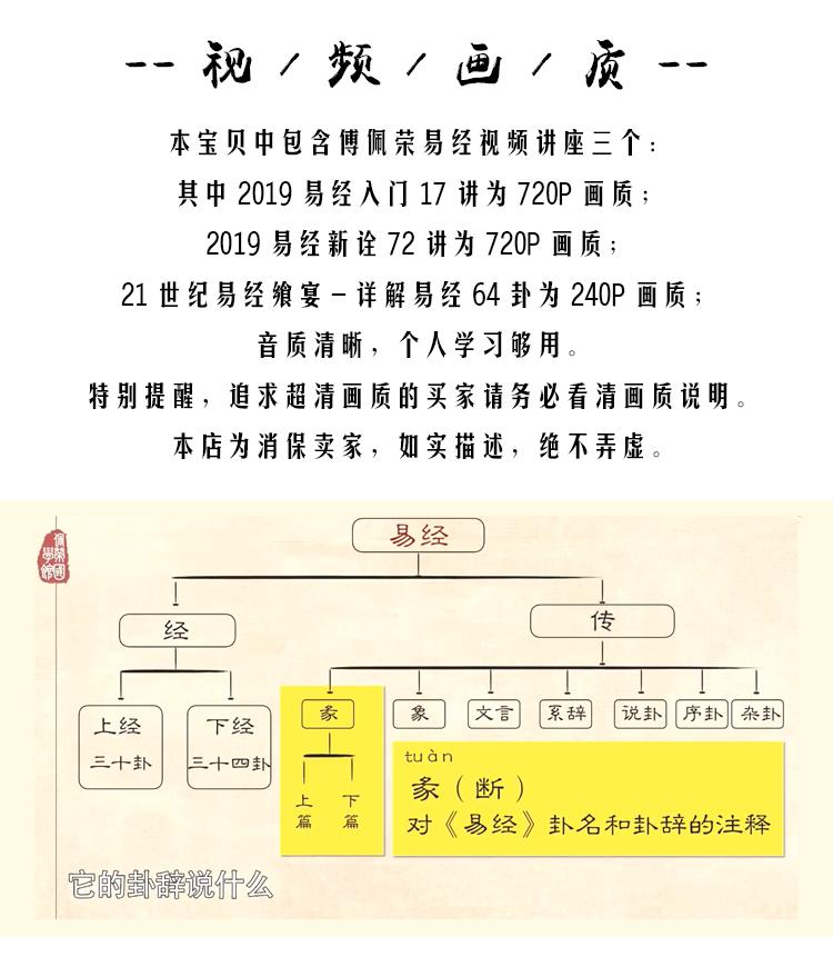 傅佩荣视频音频MP3全集-解读易经入门64卦课程-论语三百讲讲座合集