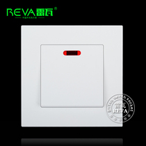 High power switch Indicator 20a air conditioner bath water heater switch