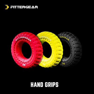 FitterGear Fitness Training Portable Tire Rubber Grip Home Rehabilitation Hand Strength Training