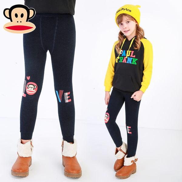 Paul Frank 大嘴猴 女童保暖打底裤 ¥29.9包邮(¥59.9-30)多款可选