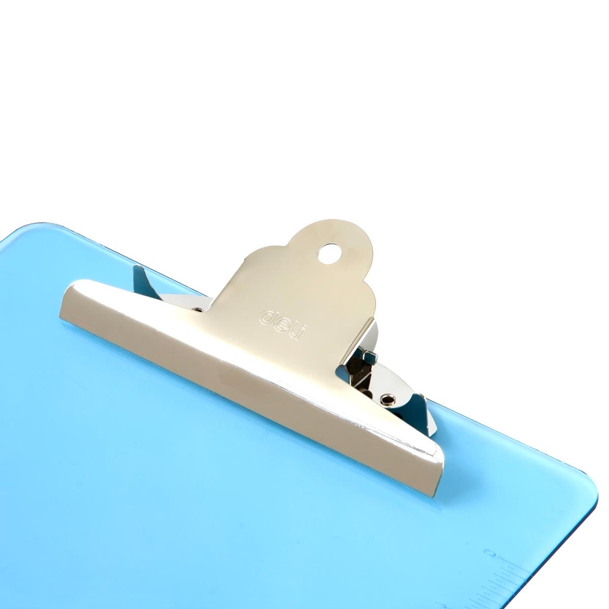 得力A4书写板夹塑料硬板文件夹写字板办公用品阅读板加厚垫板夹