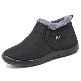 棉鞋秋冬季男女情侶款加絨保暖鞋