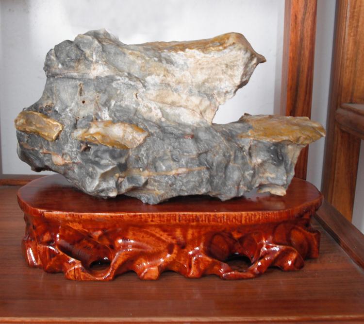 加大套十实木根雕石头底座摆件奇石玉石底座 木质特价可挖槽 家装
