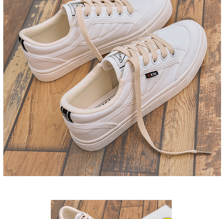2018 spring new shoes white shoes female wild Korean students canvas shoes 28