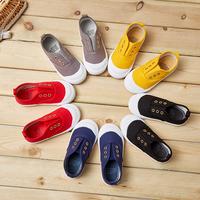 0-1-2-3-4-5-6-78 лет детские кеды мужской Одна нога панель башмак на мальчика Тканевая обувь, женщины, маленькие дети туфли