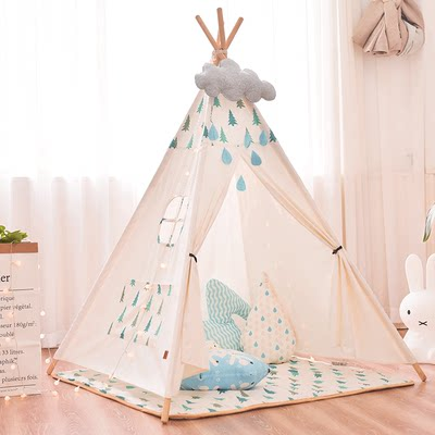 Children's tent indoor play house household Indian small house boy girl baby doll house princess room