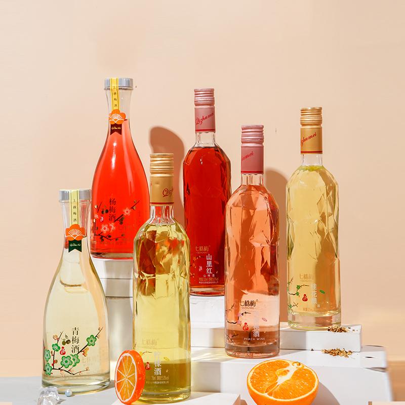 【6瓶聚餐装】果酒女生闺蜜微醺少女低度甜酒5度女士低甜度晚安酒