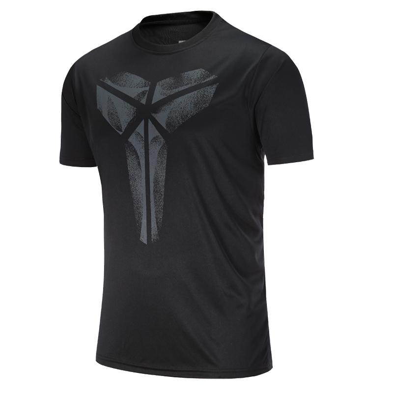 官方轩尧耐克泰正品AJ运动T恤男短袖2018新款科比圆领速干透气跑