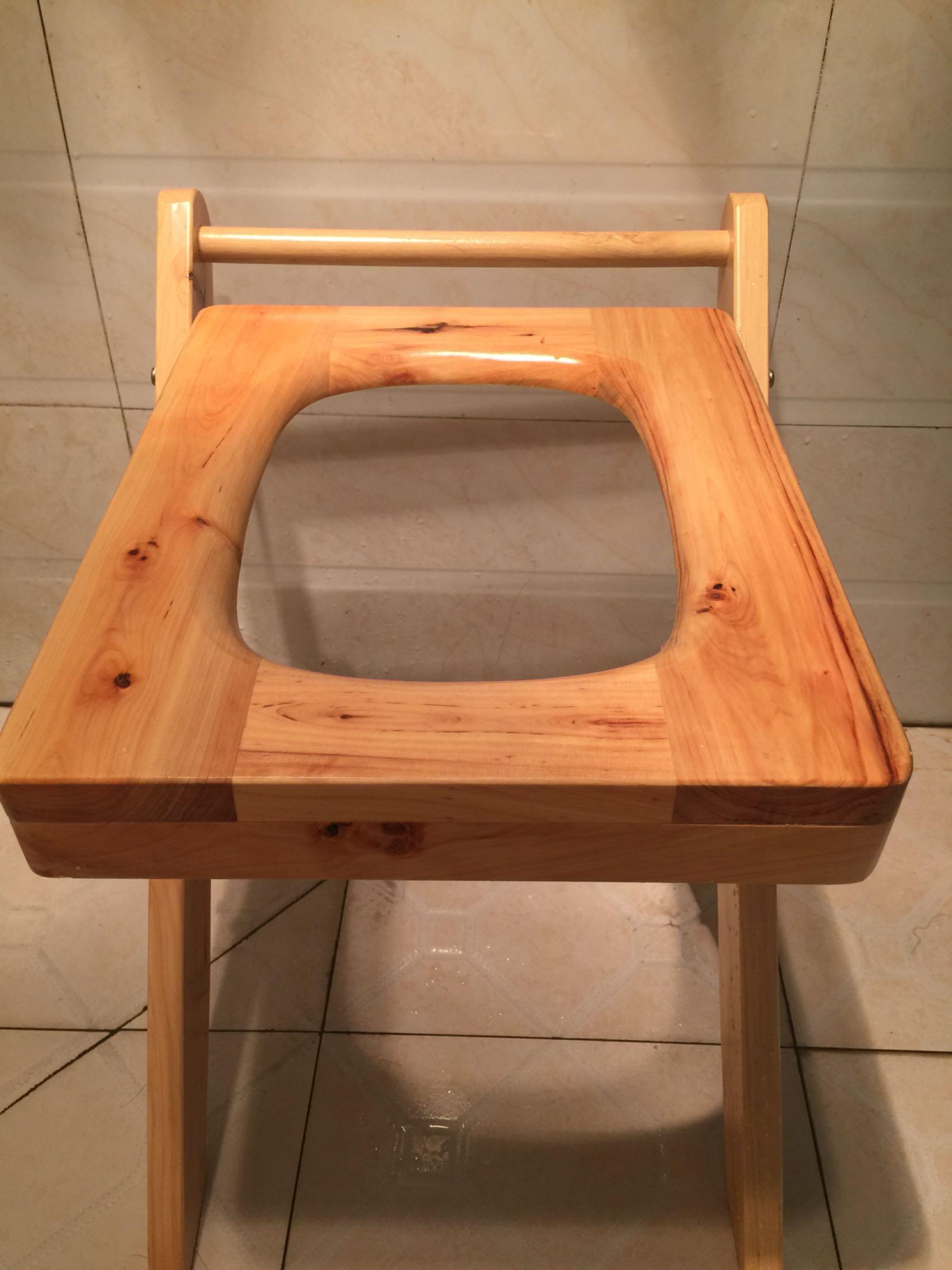 Solid wood toilet seat pregnant women disabled elderly toilet toilet ...