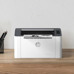 HP HP Laser 108w printer black and white laser wireless wifi network mobile phone printing student homework data home small office A4
