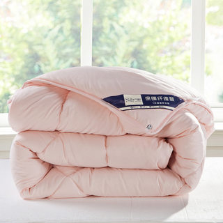 Super soft air conditioning spring and autumn quilt winter quilt thick cotton quilt single 1.5m1.8 double 2.0 student dormitory quilt