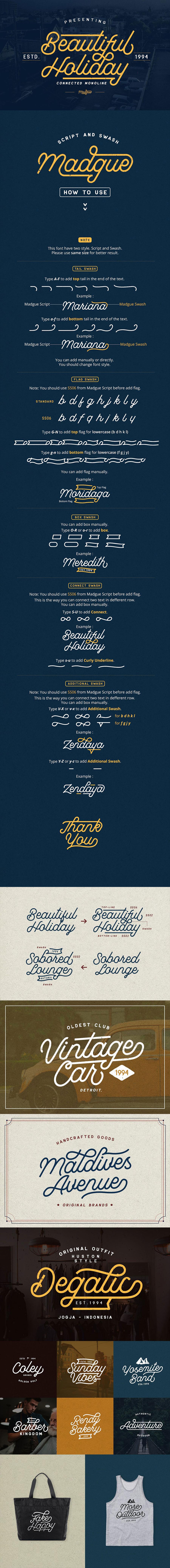 免费漂亮的复古时尚流畅的字体下载[otfttf]设计素材模板