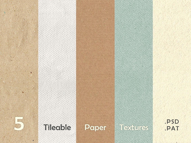 5个高级灰无缝纹理肌理壁纸背景设计素材模板