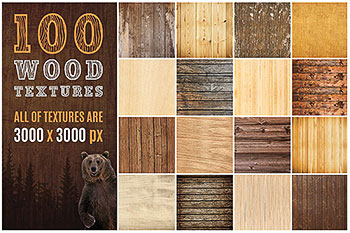 100真实质感的木纹木质背景纹理素材打包下载[高清图]