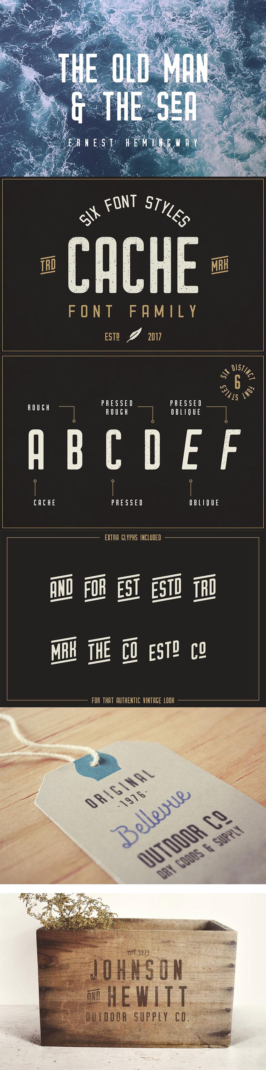 一种百搭经典的设计字体下载[otfttf]设计素材模板