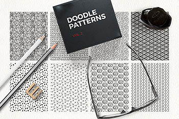Doodle Patterns vol 2 手工涂鸦图案