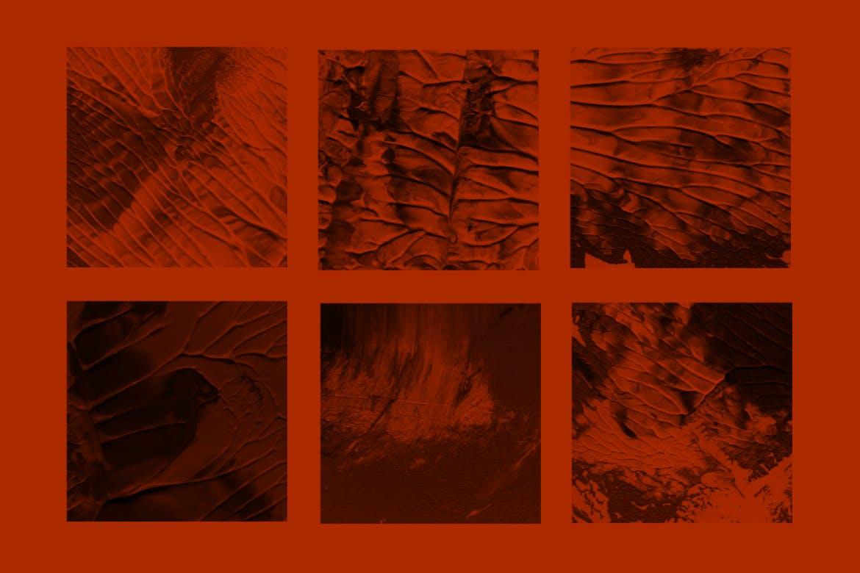 30个高品质的聚丙乙烯涂料油画质感的photoshop笔刷大集合设计素材模板