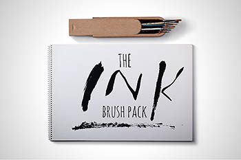 水墨AI笔刷 Ink Brush Pack for Illustrator