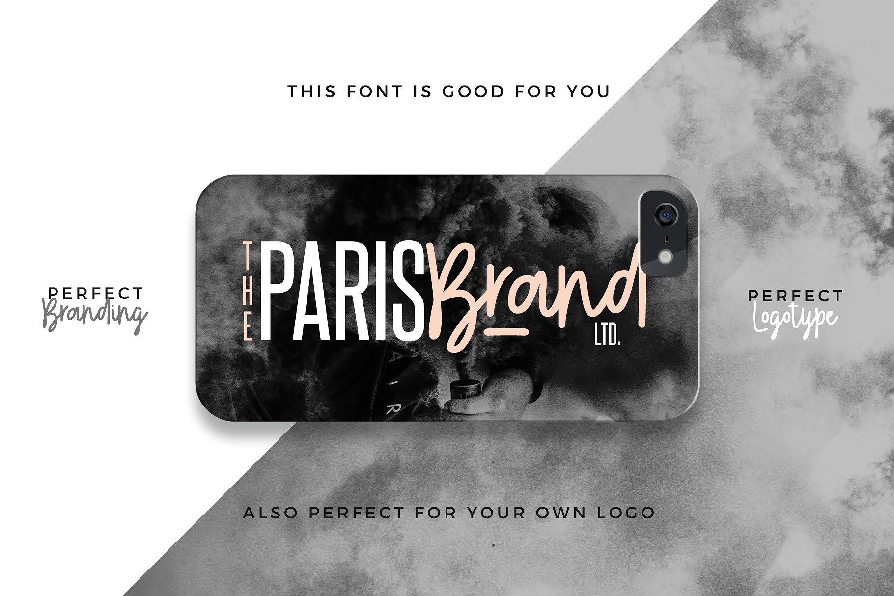 时尚的字体 Play Ground Font + Extras设计素材模板