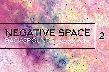 负空间太空高清背景图片素材v2 Negative Space Backgrounds 2