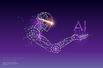 背景人工智能AI概念矢量科技素材下载[EPS]