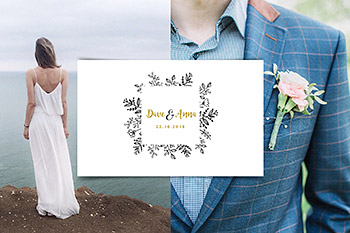Logo设计婚庆品牌模板合集 Wedding logo boutique, premade logo