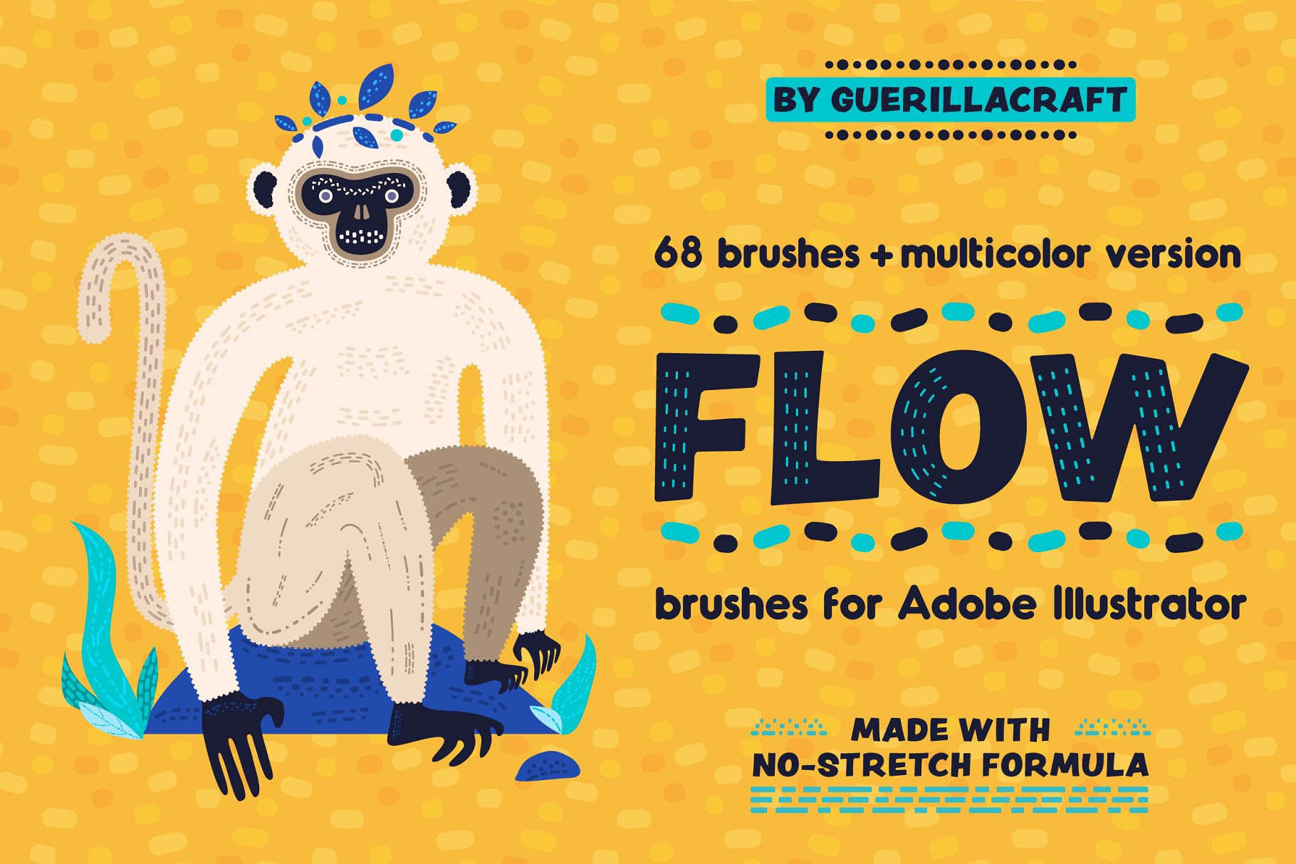 ps水笔刷下载 Flow Brushes