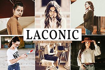 高品质复古巧克力色暖色调照片滤镜LR预设 Laconic Mobile & Desktop Lightroom Presets