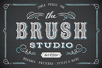 笔刷特效素材包 The Brush Studio