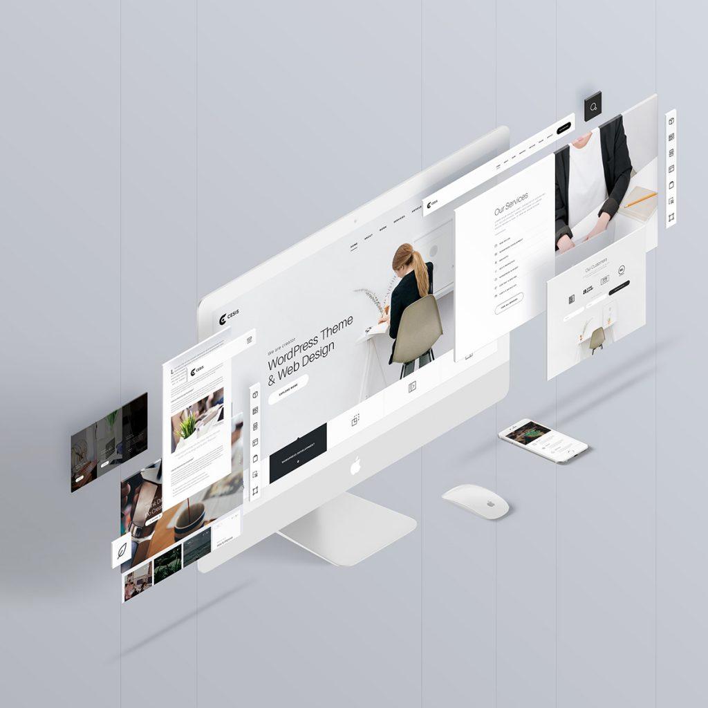 项目透视分解图 (Mockup) v2设计素材模板