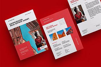 公司简介/业务宣传单设计模板 Corporate Flyer