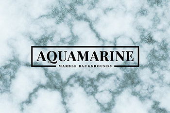 背景纹理海蓝大理石 Aquamarine Marble Backgrounds