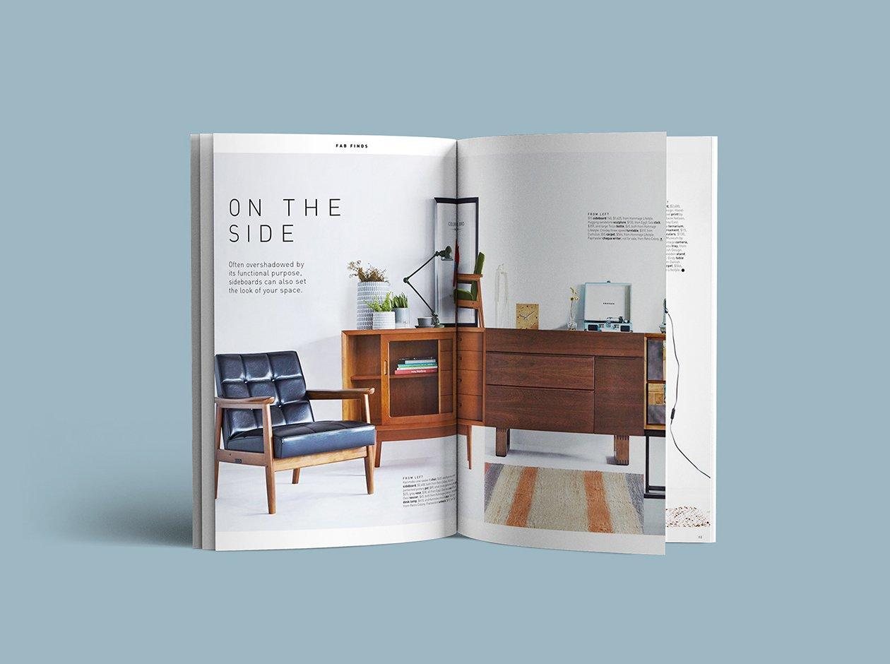 特别角度的书籍或杂志设计展示模型(Mockup)PSD下载设计素材模板
