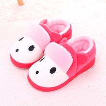 儿童棉鞋冬季保暖男女童家居棉拖