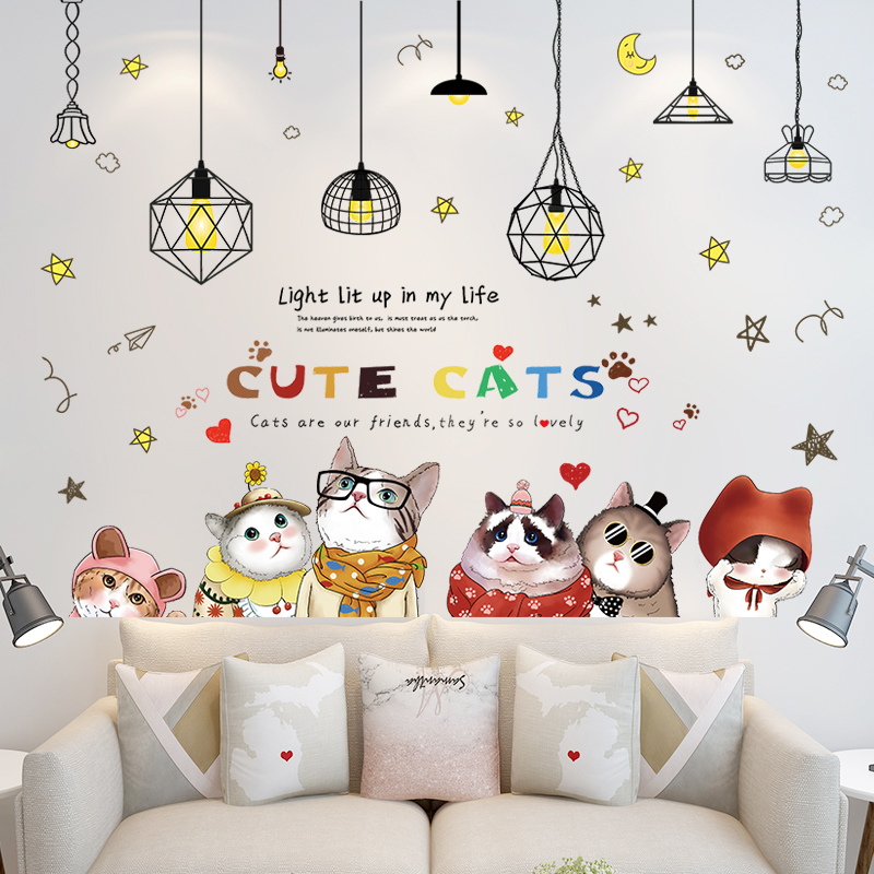 3d Stereo Wall Sticker Stickers Warm Little Fresh Girl Bedroom Room Wall Decoration Wall Wallpaper Self Sticking,Hemingway Home Key West Florida