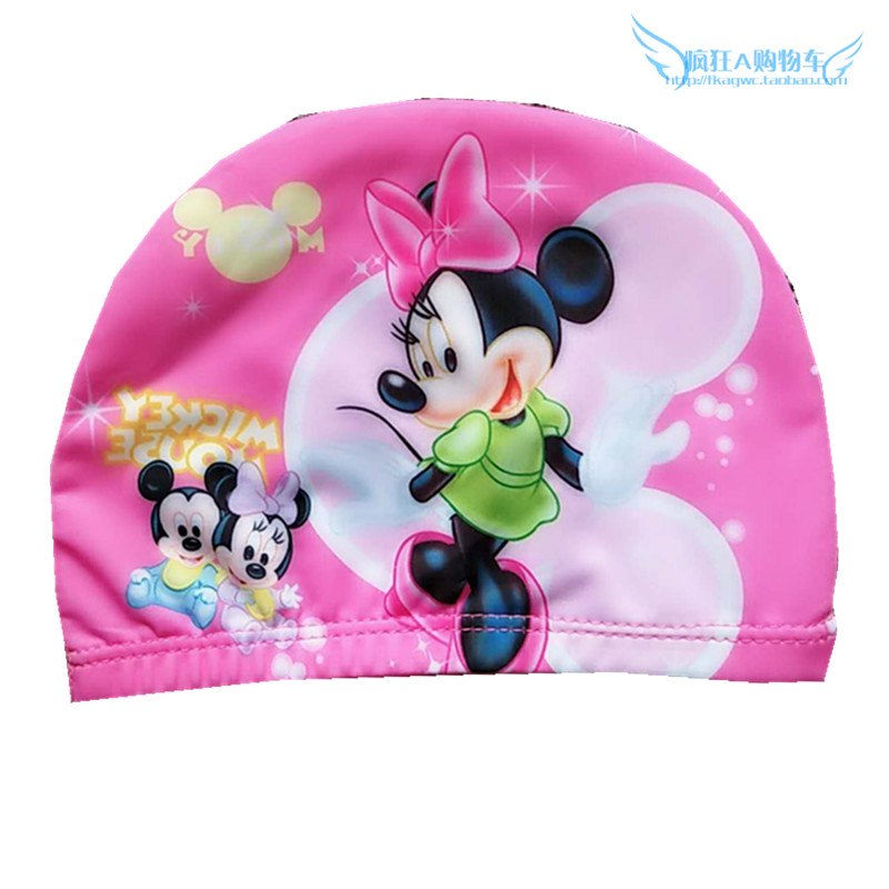 293b418e2b9 USD 9.08] Frozen swim cap Aisha girls Sophia Princess KT swimming ...