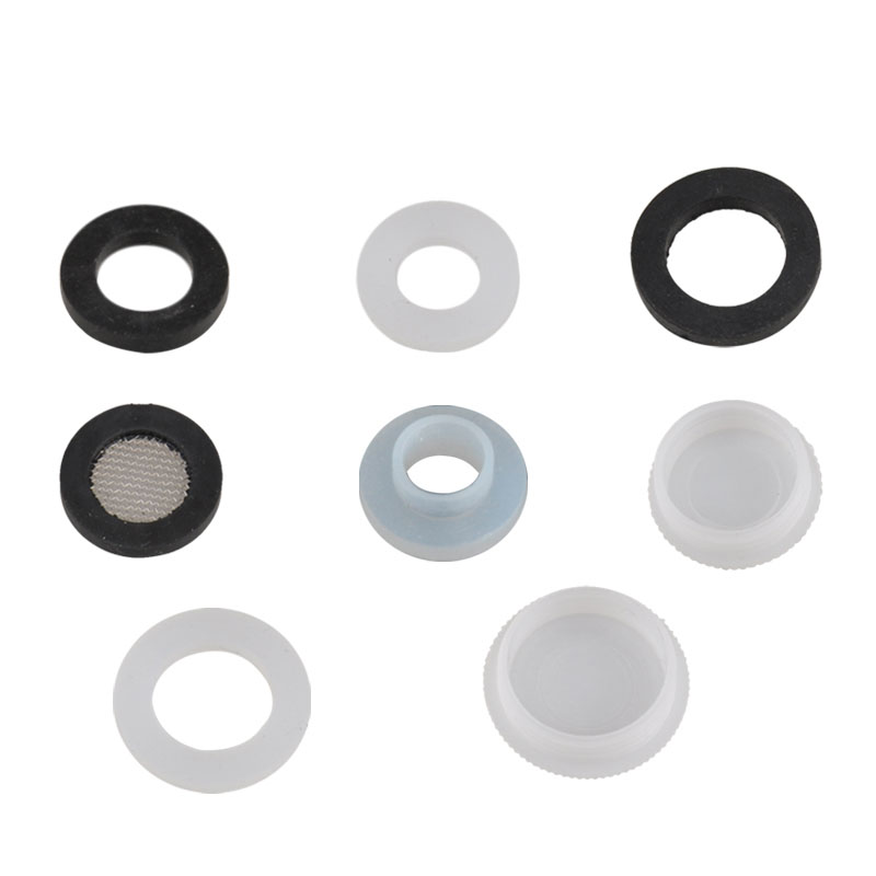 USD 3.94] White silicone gasket gasket Black Rubber cushion bellows ...