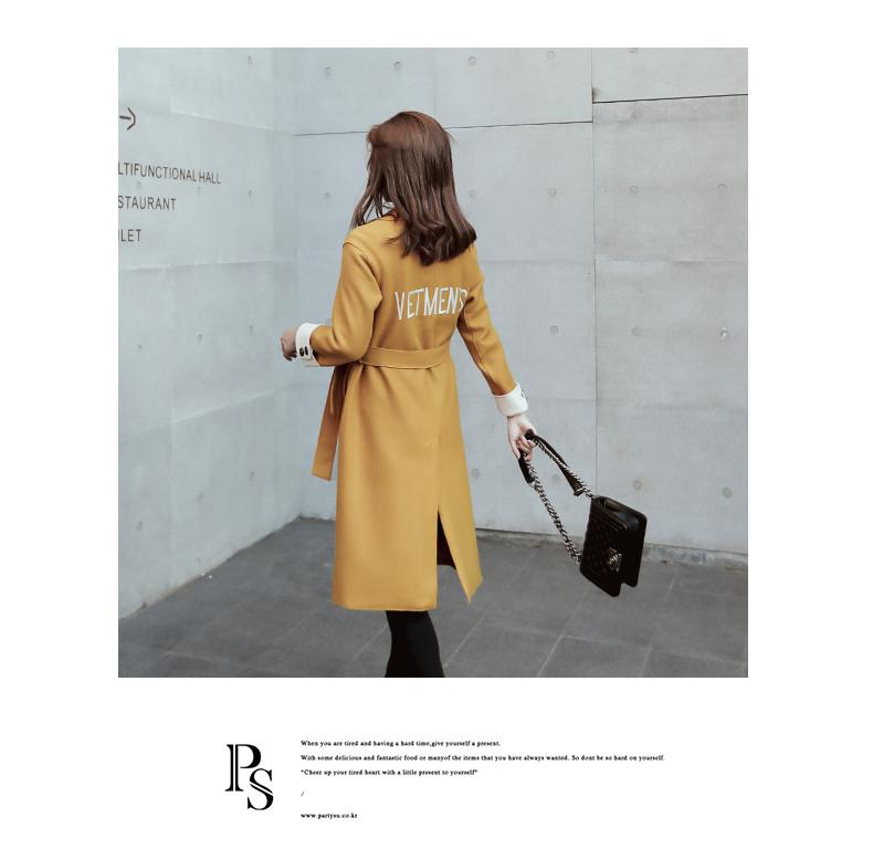 Lỏng kích thước lớn áo len nữ phần dài 2018 mùa thu và mùa đông mới Hàn Quốc thời trang eo khí áo len