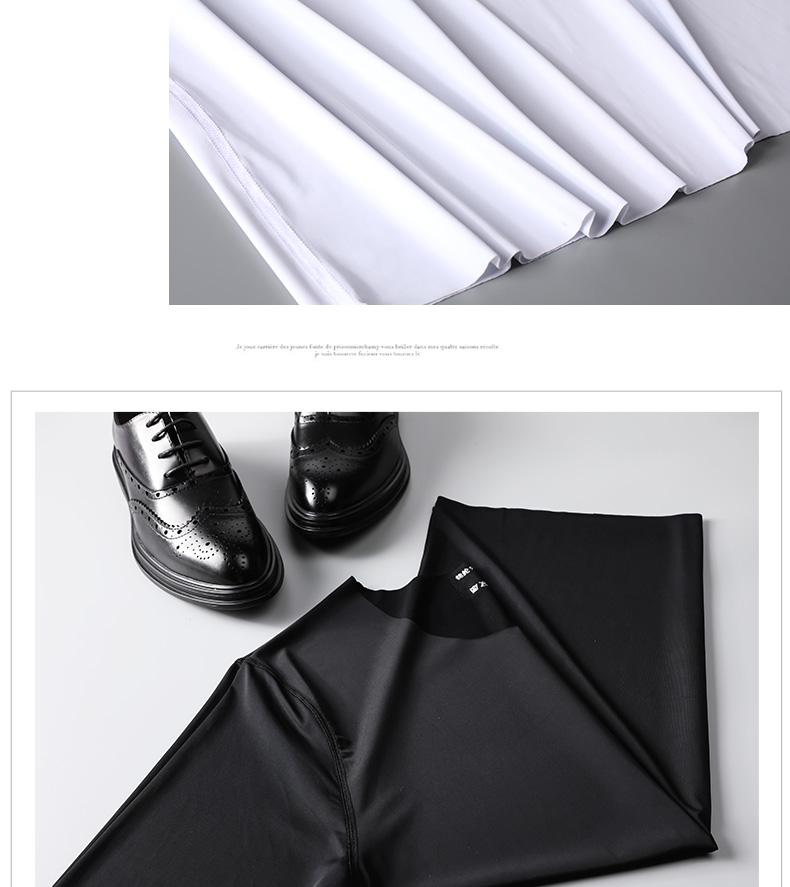 Liền mạch băng lụa T-Shirt ngắn tay nam mùa hè phần siêu mỏng nhanh chóng làm khô sữa lụa vòng cổ mùa hè từ bi xu hướng quần áo áo thun form rộng nam
