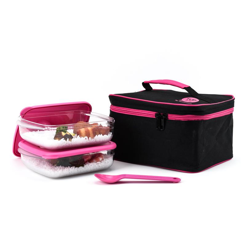 特百惠便携饭盒分隔特价午餐碗/分格微波/便当盒v饭盒套装正品