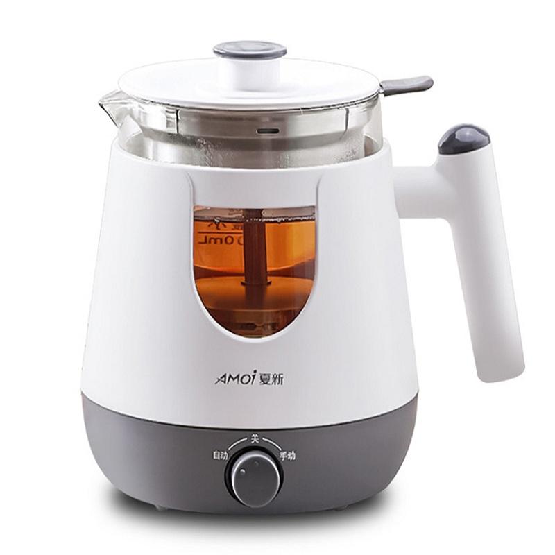 煮茶器黑茶全自动家用小型蒸汽黑煮茶壶办公室玻璃花茶保温蒸茶壶