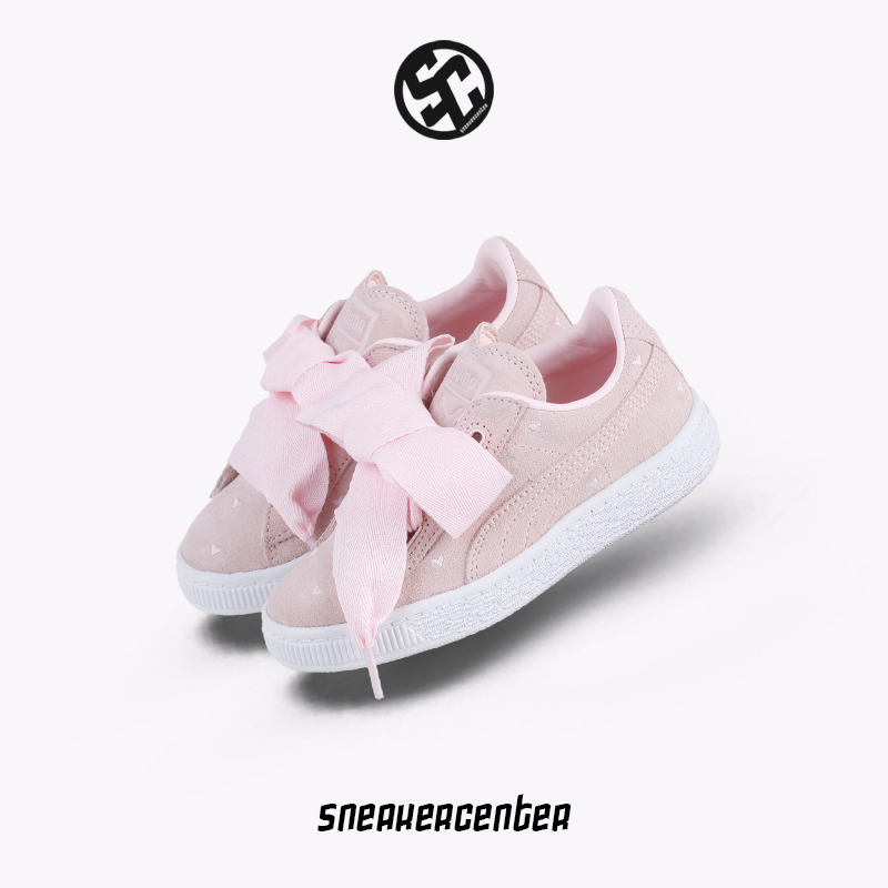 757300d2a210ef Puma Suede Heart Valentine Valentine s day limited bow girls casual shoes  365136 · Zoom · lightbox moreview · lightbox moreview ...