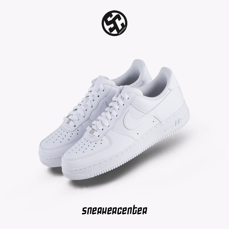 Nike Air Force 1 1 Force Af1 Blanco Air Force One Hombres Y Mujeres Deportes 6e0482