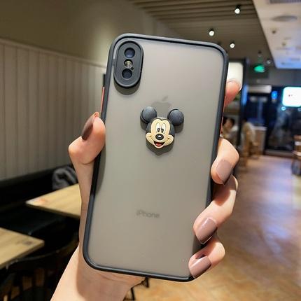 适用苹果11哆啦A梦手机壳11pro卡通米妮11promax摄像头全包11可爱