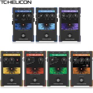 Педали эффектов,  TC-Helicon VoiceTone T1 сжатие C1 R1 смешивать кольцо H1 спокойный звук D1 E1 X1 человек звук эффект устройство, цена 14607 руб