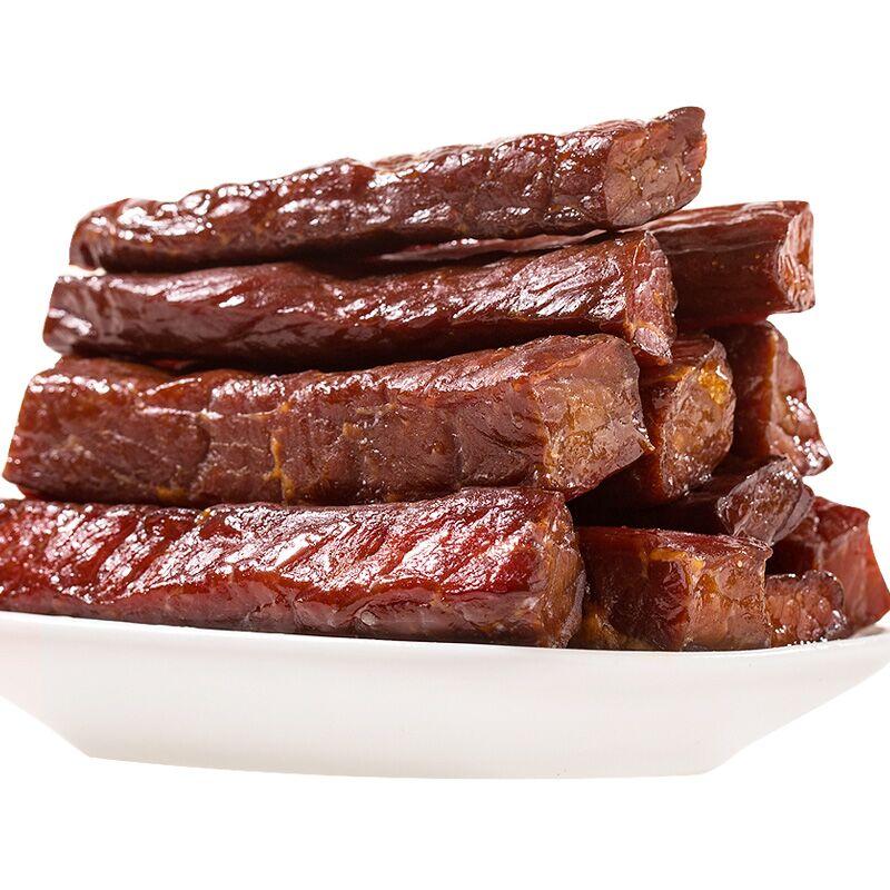 风干牛肉干四川特产内蒙古五香手撕牦牛肉干500g西藏耗牛麻辣零食