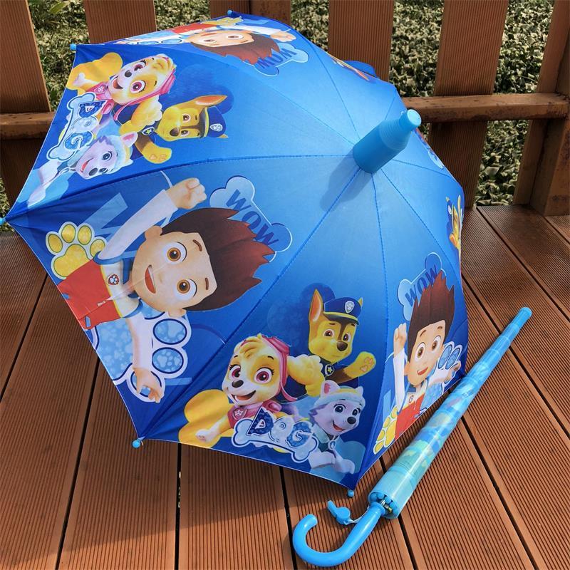 汪汪队儿童雨伞幼儿园创意安全可爱卡通小学生男女孩童伞透明伞