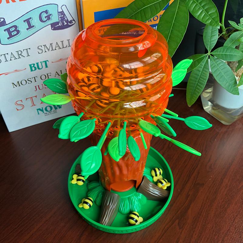 Cây trứng ong nhỏ dễ thương cha mẹ tương tác trò chơi hội đồng quản trị trẻ em tập trung tư duy logic đào tạo đồ chơi câu đố - Trò chơi cờ vua / máy tính để bàn cho trẻ em