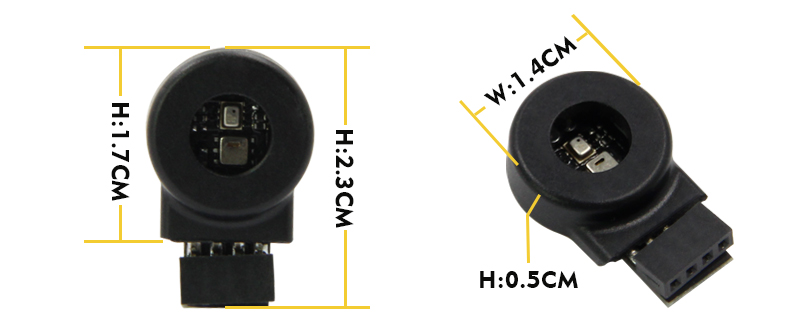 T-FH New expansion method Interface I2C/UART BMP280 AHT20 Temperature and humidity atmospheric pressure environment monitoring