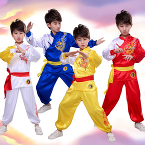 Children martial arts costume performance costume primary school student Chinese martial arts training Costume